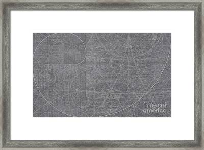 Abstract No 111 - It Just Unfolds   Framed Print by Radu Gavrila