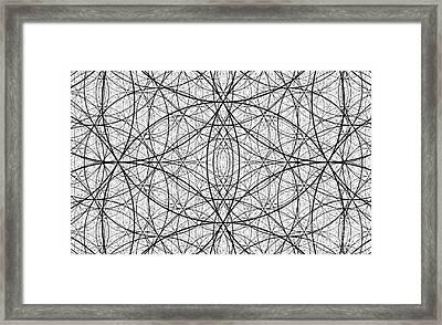 Abstract No 90 - The Illusion Of Evolution  Framed Print by Radu Gavrila