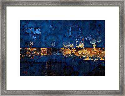 Abstract Painting - Anzac Framed Print by Vitaliy Gladkiy