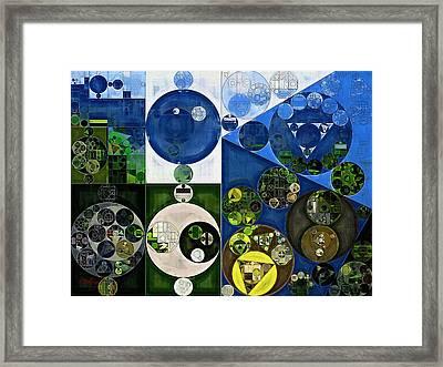 Abstract Painting - Black Pearl Framed Print by Vitaliy Gladkiy