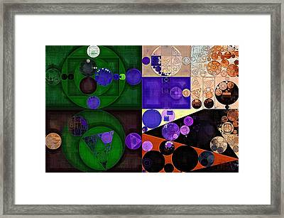 Abstract Painting - Cashmere Framed Print by Vitaliy Gladkiy
