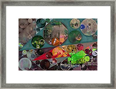 Abstract Painting - Chicago Framed Print by Vitaliy Gladkiy