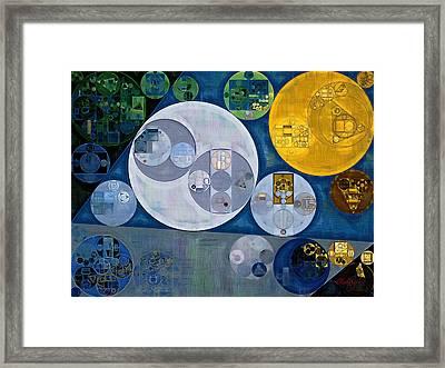 Abstract Painting - Chino Framed Print by Vitaliy Gladkiy