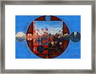 Abstract Painting - Ferra Framed Print by Vitaliy Gladkiy