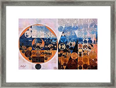 Abstract Painting - Ghost Framed Print by Vitaliy Gladkiy