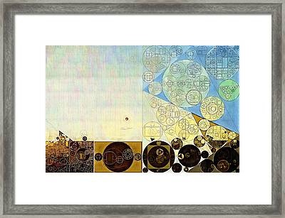 Abstract Painting - Gin Framed Print by Vitaliy Gladkiy