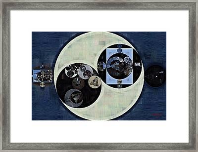 Abstract Painting - Madison Framed Print by Vitaliy Gladkiy