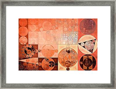 Abstract Painting - Mandys Pink Framed Print by Vitaliy Gladkiy