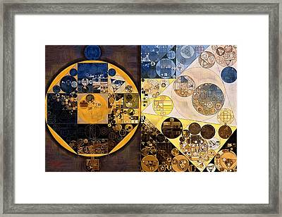 Abstract Painting - New Orleans Framed Print by Vitaliy Gladkiy