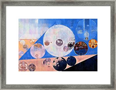 Abstract Painting - Petite Orchid Framed Print by Vitaliy Gladkiy