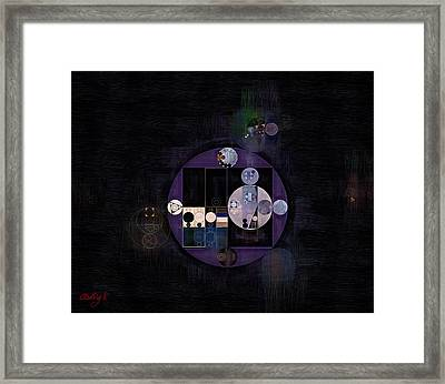 Abstract Painting - Rose Quartz Framed Print by Vitaliy Gladkiy