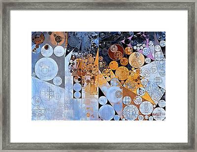 Abstract Painting - Squirrel Framed Print by Vitaliy Gladkiy