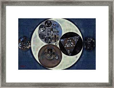 Abstract Painting - Tasman Framed Print by Vitaliy Gladkiy
