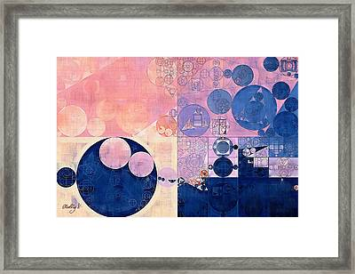 Abstract Painting - Waikawa Grey Framed Print by Vitaliy Gladkiy