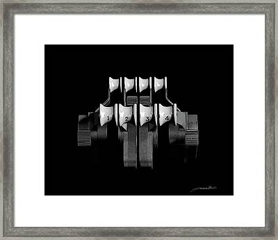 Abstract Power Framed Print by Thibault Cernaix