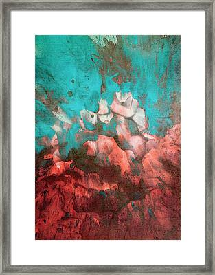 Abstract Print 1115 Framed Print by Filippo B