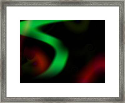 Abstract Road Framed Print by Contemporary Art