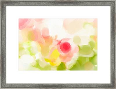 Abstract Roses Framed Print by Tom Gowanlock