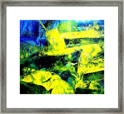 Abstract Scape Framed Print by John  Nolan