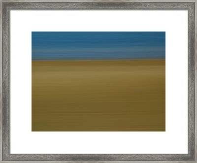 Abstract Seascape 2 Framed Print by Juergen Roth
