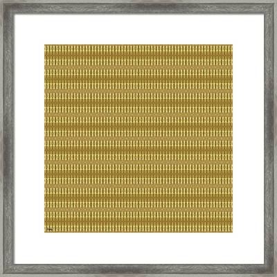 Abstract Square 14 Framed Print by Patrick J Murphy