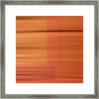 Abstract Textures Framed Print by Leland D Howard