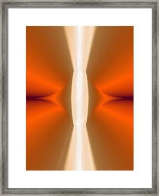 Abstract309b Framed Print by David Lane
