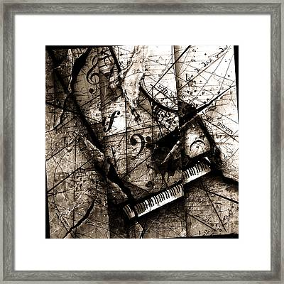 Abstracta 27 The Grand Illusion  Framed Print by Gary Bodnar