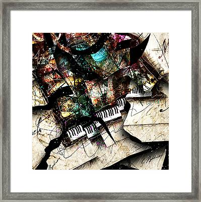 Abstracta_22 Concerto 3 Framed Print by Gary Bodnar