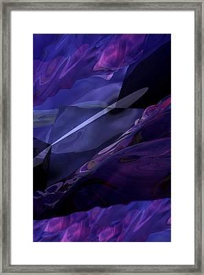 Abstractbr6-1 Framed Print by David Lane