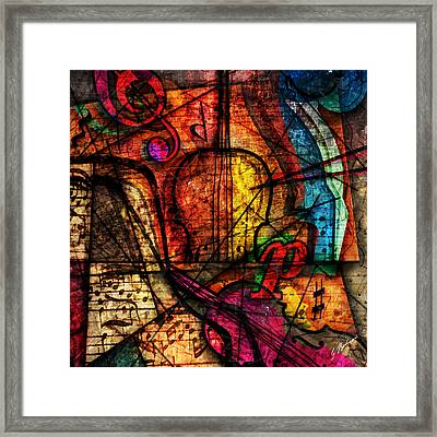 Abstracta_08 Symphony Framed Print by Gary Bodnar