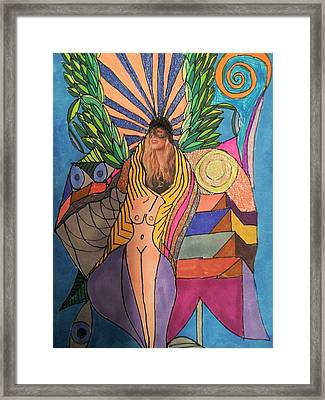Abstraction 41 Framed Print by William Douglas