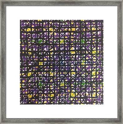 Abstraction 42 Framed Print by William Douglas