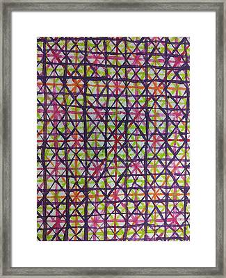 Abstraction 43 Framed Print by William Douglas