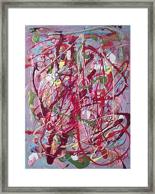 Abstraction 47 Framed Print by William Douglas