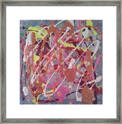 Abstraction 50 Framed Print by William Douglas