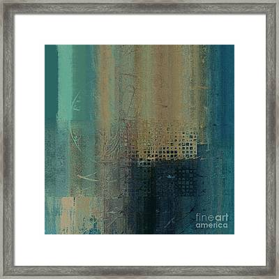 Abstractionnel - J-030097043-trq Framed Print by Variance Collections