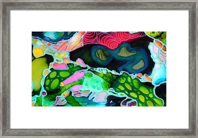 Abstractsia #2 Framed Print by Angela McKenzie