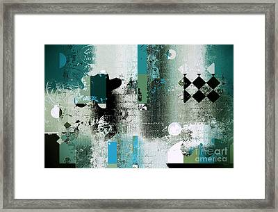 Abstracture - 21pp8bb Framed Print by Variance Collections