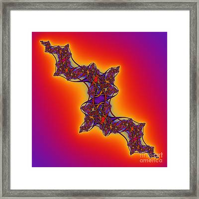 Abstrakt 62 Framed Print by Rolf Bertram