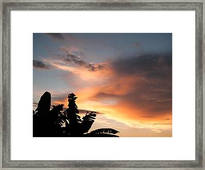 Abuja Sunset Framed Print by Hakon Soreide