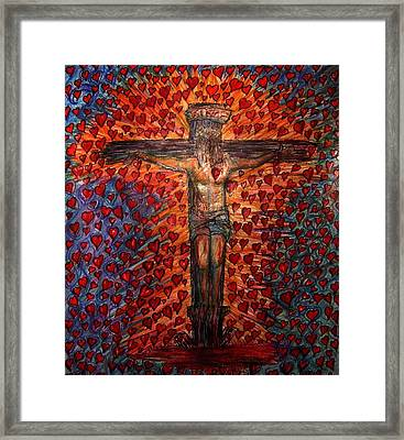 Abundant Love Framed Print by Richard  Hubal