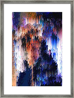 Abuse Phenomenon Framed Print by Alix Rumble