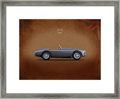 Ac Ace 1951 Framed Print by Mark Rogan
