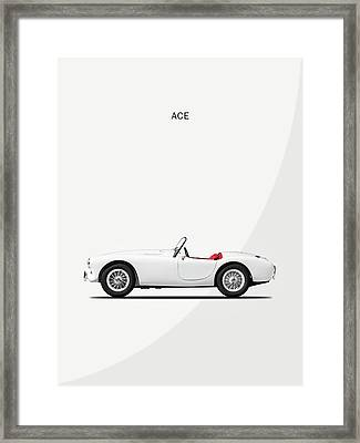 Ac Ace Framed Print by Mark Rogan