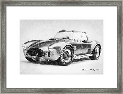 Ac Cobra Shelby 427  Framed Print by Taylan Soyturk