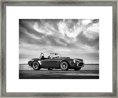 Ac Shelby Cobra Framed Print by Mark Rogan