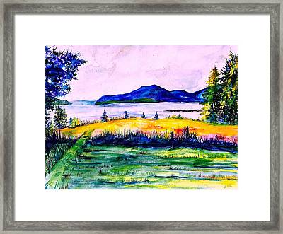 Acadia Limited Edition Framed Print by Julia S Powell