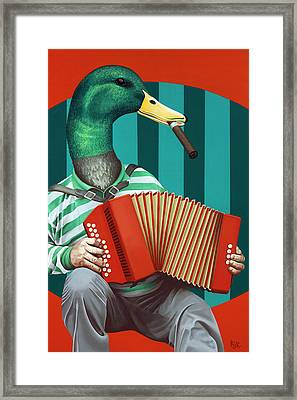 Accordion To This Framed Print by Kelly Jade King