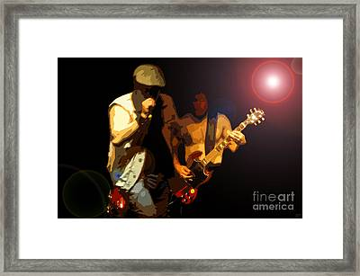 Acdc Framed Print by David Lee Thompson